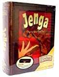 Hasbro Jenga Vintage Wood Book Edition