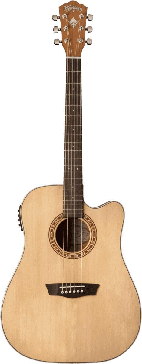 Guitarra Washburn Folk Harvest D7SCE natural
