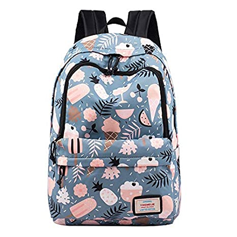 2ff9b880c066 Image Unavailable. Image not available for. Color  Fashion Printing Backpack  Women Children Schoolbag Back Pack Leisure Ladies Knapsack Laptop Travel ...