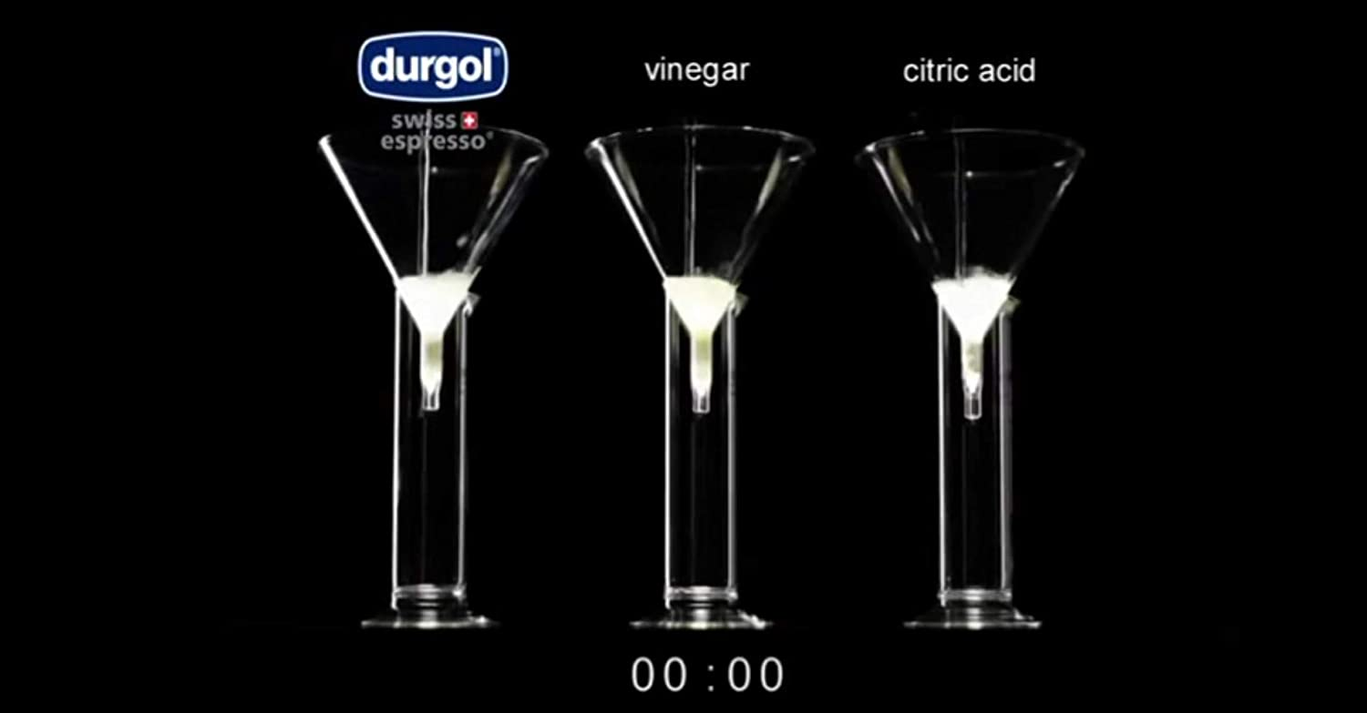 Durgol Swiss Decalcifier for All Brands of Espresso Small