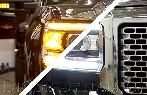 Switchback White+Signal DRL Kit for 2014-2015 GMC Sierra (USDM)
