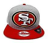 San Francisco 49ers Vintage XL Logo Grand 2 tone Snapback Hat