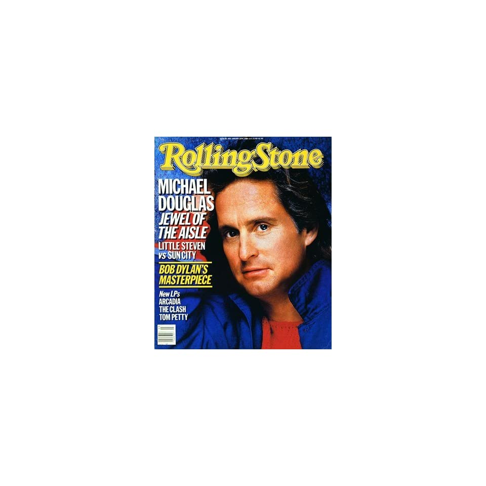 Michael Douglas, 1986 Rolling Stone Cover Poster by E.J. Camp (9.00 x 11.00)