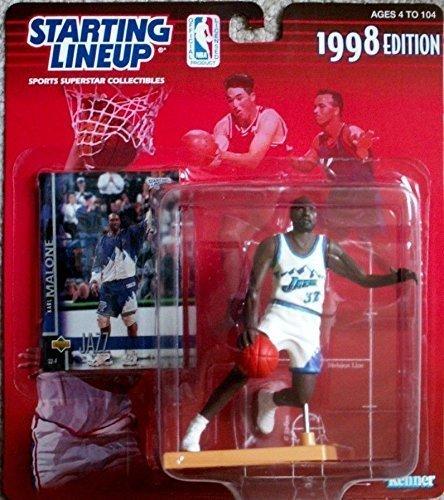 (1998 NBA Starting Lineup - Karl Malone - Utah Jazz by Hasbro)