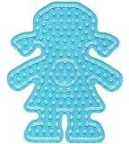 Hama Perlen 8207 - Maxi-Perlen Stiftplatte Mädchen