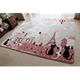 ONEONEY Home Decoration Area Rugs Environmental Anti-slip Bedroom/Living Room Carpet Yoga Mat Baby Crawling Mats...