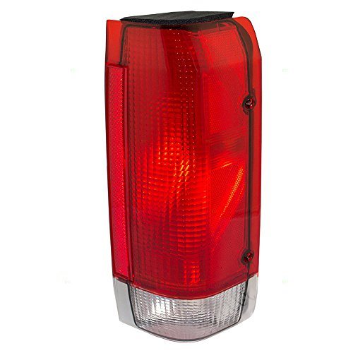 1987 Ford Pickup (Passengers Taillight Tail Lamp Lens Replacement for Ford Pickup Truck SUV E7TZ13404A)