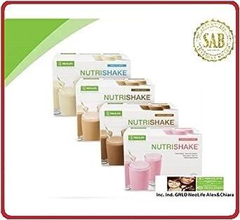 neolife nutrishake café (Suplemento Nutricional En Polvo 20 sobres de proteínas, minerales, vitaminas