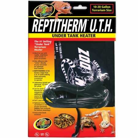(Zoo Med Reptitherm Under Tank Heater (1020 gallons) 6