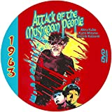 Attack of the Mushroom People (1963) Classic Sci-fi and Horror Movie DVD-R