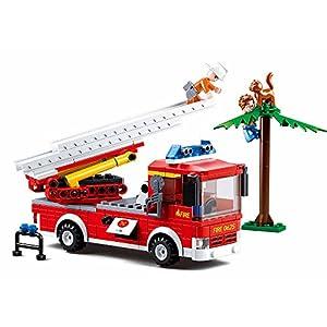 Sluban Fire Aerial Ladder Building...