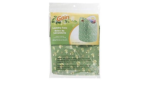Amazon.com: Gain Laundry Tote, Green: Health & Personal Care