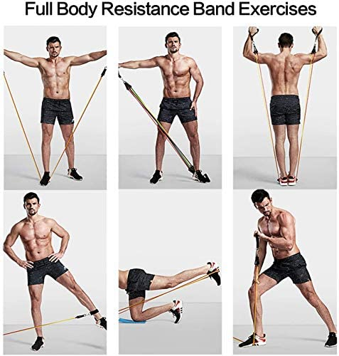 14-Pack Full-Body Workout Bundle Carry Bag /& 11 Exclusive 24//7 Online Videos. 32-Page Printed Full-Color Exercise Booklet Stronger.Bolder.Better 3 Premium Fabric Resistance Bands 4 Core Sliders