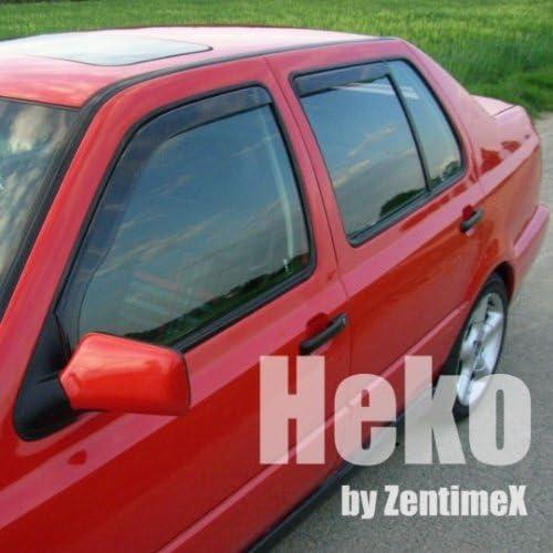 Heko Z902056 Windabweiser Regenabweiser Für Golf 5 Plus 05 Für Vorne Und Hinten Auto