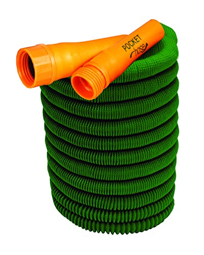 Pocket Hose Bullet 50-Ft Expandable Garden Hose by BulbHead No
