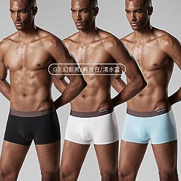 LLZNSNK Calzoncillos/Ropa Interior De Los Hombres De La Ropa Interior Masculina Transpirable Del Boxeador