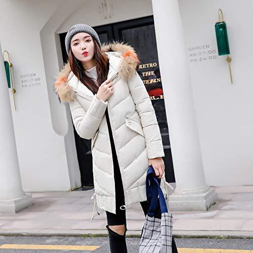Loisirs Femmes Air Manteaux Rembourré Veste Capuche Manteau À Plein En Mode Coton Chaudes Blanc D'hiver De La Manteau Dames Oudan Épais Des OZWaTnS