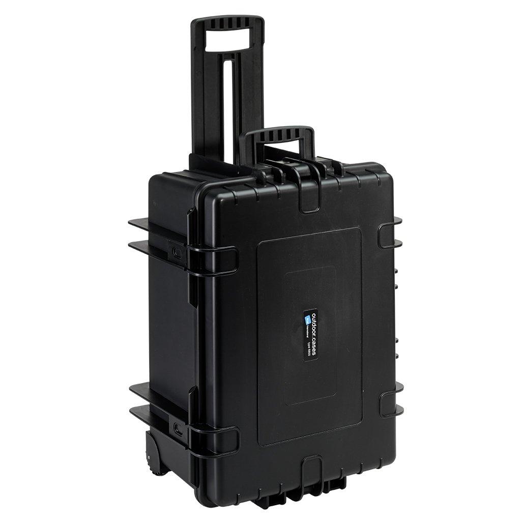【国内正規品】 B&W Internatinal 防水 ハードケース OUTDOOR CASES TYPE6800RPD ブラック  クッションパッド BW0013RPD  ブラック B01M0CCUYJ