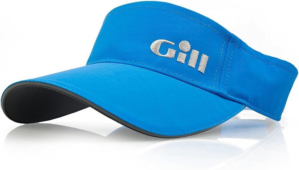 Unisex Gill Regatta Visor Bright Blue Lightweight Breathable UV Sun Protection and SPF Properties