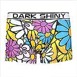 [DARK SHINY(ダークシャイニー)] メンズボクサーパンツ FlashyFlowers