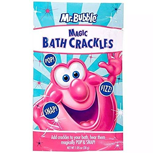 Crackle Pop - Mr. Bubble Magic Bath Crackles, 1.1000000000000001 Oz