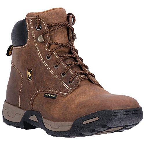- Dan Post Men's Cabot Waterproof Work Boot Soft Round Toe Tan 12 D(M) US