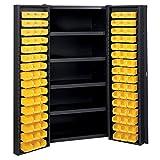Edsal Manufacturing BC6202BLK Industrial Bin Storage Cabinet