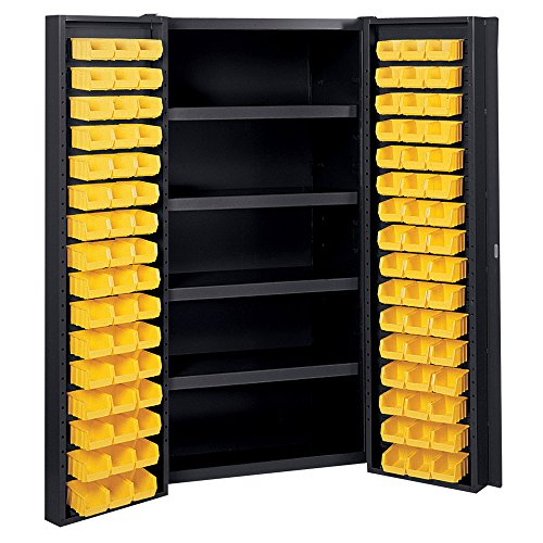 edsal manufacturing bc6202blk industrial bin storage cabinet - Industrial Storage Cabinets