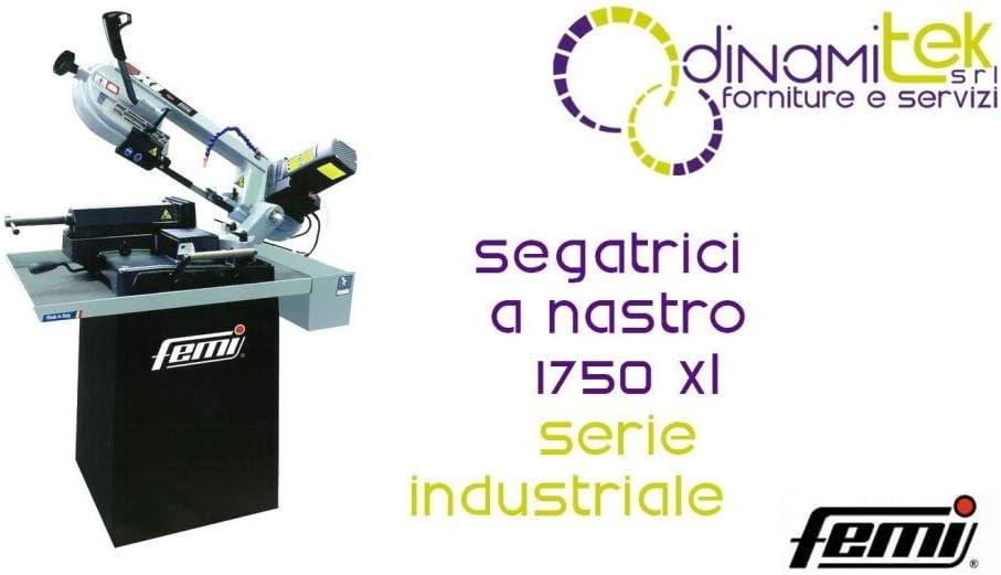 Rosso Femi 785 XL 1750 Segatrice a Nastro Serie Professionale