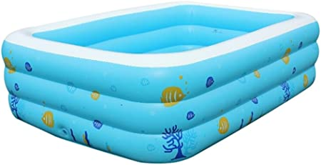 Igemy Piscine Gonflable 120 X 85 X 35 Cm Bleu Amazon Fr Jardin