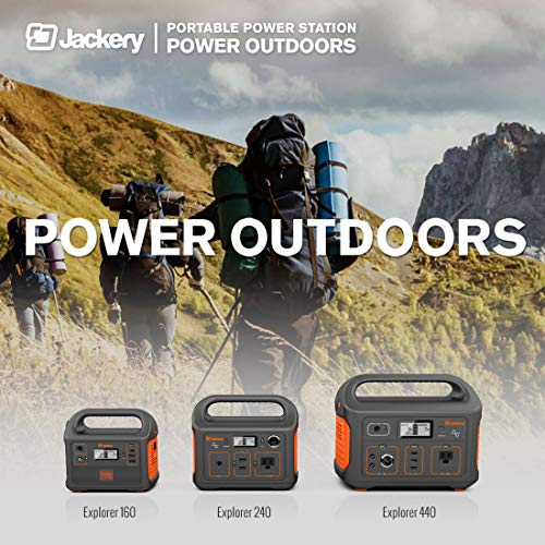 Jackery Portable External Charger Giant+ 12000mAh Dual USB Output Battery Pack Travel Backup Power Bank Emergency LED Flashlight iPhone, Samsung Other Smart Devices - Black by Jackery (Image #1)