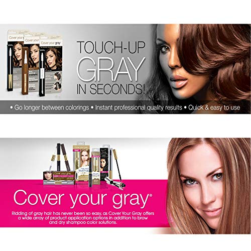 Cover Your Gray Fill in Powder - Medium Brown (Pack of 6) by Cover Your Gray (Image #3)