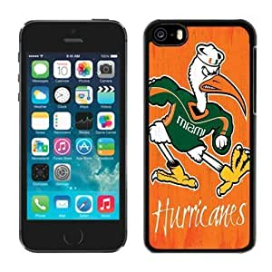 Iphone 5c Case Ncaa ACC Atlantic Coast Conference Miami (Fl) Hurricanes 1 Apple Iphone Case