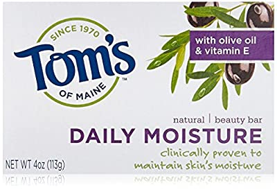 Tom's of Maine Moisturizing Bar Daily, 4-Ounce Bar