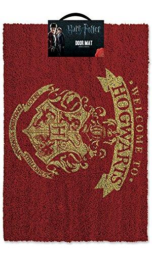 Harry Potter Doormat Zerbino Welcome to Hogwarts Doo 174e4a489fbd