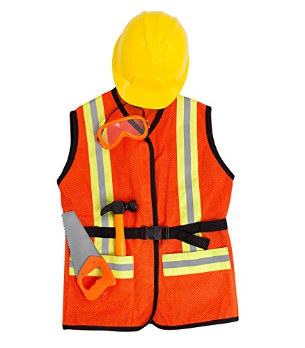 FAO Schwarz 5-Piece Construction Worker Costume for sale  Delivered anywhere in USA