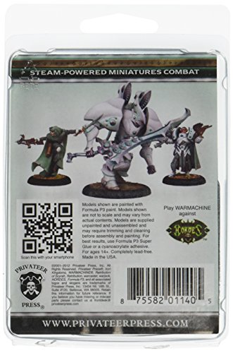 Privateer Press - Warmachine - Retribution: Vyros Incissar of The Dawnguard Model Kit 4