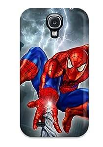 Hot Fashion VBikJEp9368MMhMD Design Case Cover For Galaxy S4 Protective Case (spider-man)