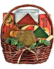 Cheese Lover Gift Basket for Those Who Really Love Cheese - Loaded With Specialty Cheeses Not Found Anywhere Else