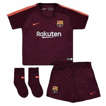Amazon.com: 2017 – 2018 Barcelona Tercera Nike Baby Kit ...