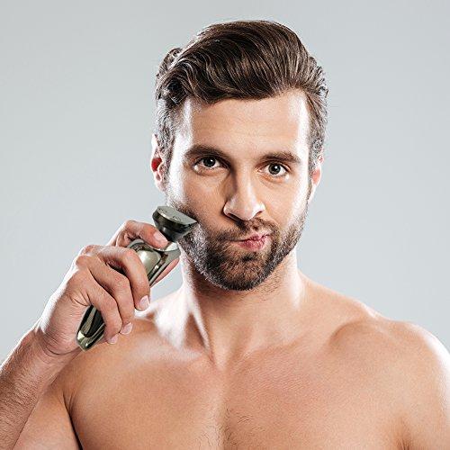 Hatteker Mens Electric Shaver Razor Beard Trimmer Rotary