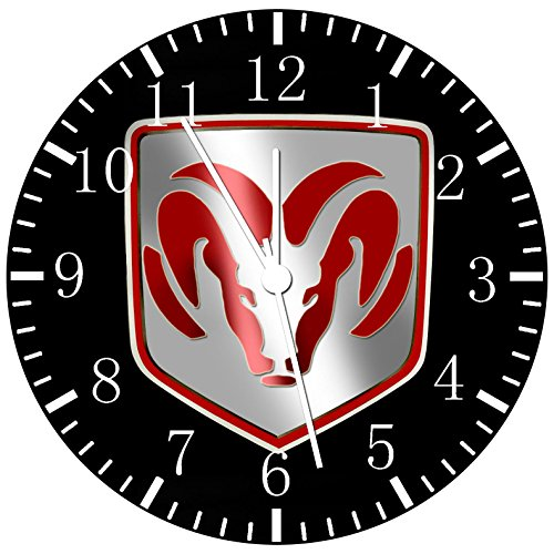 Borderless Dodge Frameless Wall Clock W443 Nice for Decor Or Gifts