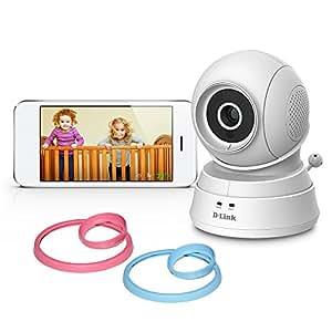 d link pan tilt wi fi baby camera temperature sensor 2. Black Bedroom Furniture Sets. Home Design Ideas