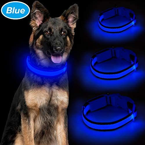 Ezier Collar Rechargeable Adjustable Size Keep