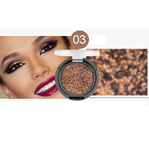 Lowpricenice DaySeventh 1 Colors Eyeshadow Shiny Glowing Shadow Palettes Makeup Eye shadow (High Pigment Olive 1 Cream)