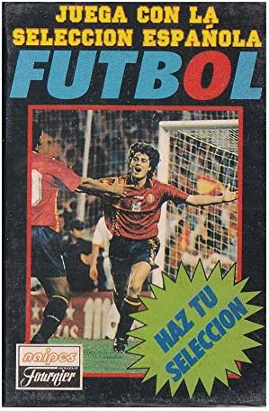 Naipes Heraclio Fournier Juego Cartas seleccion española Futbol ...