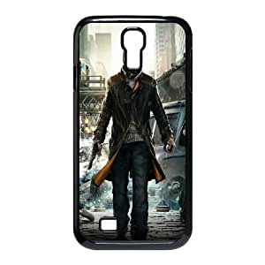 Samsung Galaxy S4 9500 Cell Phone Case Black Watch Dogs Video Game FXS_456907