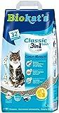 Biokat's Classic Fresh 3in1 Katzenstreu mit Cotton Blossom-Duft | verschiedene Korngrößen für feste Klumpen und schnelle Geruchsbindung