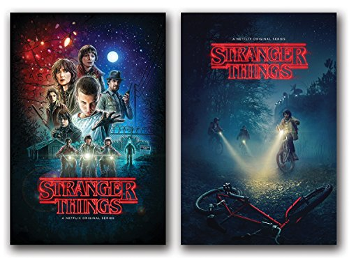 Stranger Things Posters Set of 2 - 24in x 36in each TV Show