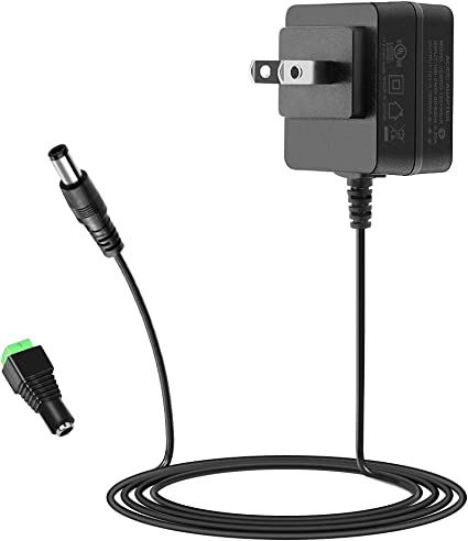 240V UL Listed AC DC 12V 1A Power Supply Adapter Charger Switching Input 100V